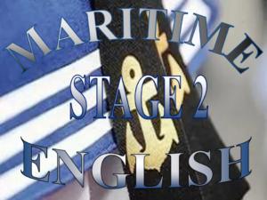 Английский язык для моряков уровень 2